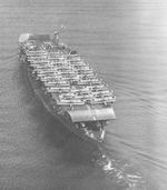 Carrier Akagi off Osaka, Japan with B1M and B2M aircraft on board, 15 Oct 1934
