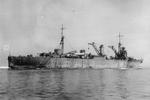 Repair ship Akashi off Sasebo, Japan during her trial period, Jul 1939