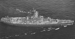 USS Alabama departing Pearl Harbor, US Territory of Hawaii, 10 Sep 1945