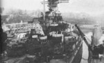 USS Alabama in Puget Sound Naval Shipyard, Bremerton, Washington, United States, Feb 1945, photo 2 of 4