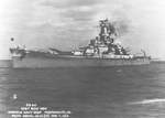 USS Alabama at Norfolk Naval Shipyard, Portsmouth, Virginia, United States, 7 Feb 1943