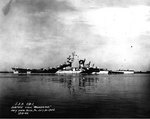Alaska off the Philadelphia Navy Yard, 30 Jul 1944, photo 1 of 2