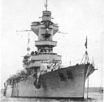 French cruiser Algérie, 1942; seen in US Division of Naval Inteligence publication ONI203