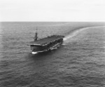 USS Coral Sea underway, 8 May 1944, photo 1 of 3