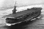 USS Coral Sea underway with F4F and TBF aircraft on board, 1943-1944