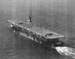 USS Coral Sea underway, Sep 1943