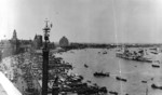 USS Augusta at Shanghai, China, late May or early Jun 1939; note Japanese armored cruiser Izumo in far background