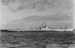 Starboard side view of USS Barbero, off Mare Island Naval Shipyard, Vallejo, California, United States, 21 Sep 1948