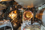 Aft torpedo room of museum ship Becuna, Philadelphia, Pennsylvania, United States, 22 Oct 2011