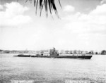 USS Becuna entering Pearl Harbor, US Territory of Hawaii, 1944-1945