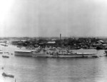 HMS Birmingham at Shanghai, China,  late May or early Jun 1939