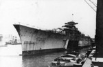 Bismarck fitting out at Hamburg, Germany, 10-15 Dec 1939, photo 1 of 4