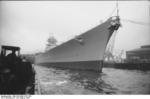 Commissioning ceremony of German battleship Bismarck, 24 Aug 1940, photo 01 of 10