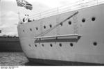 Close-up view of the stern of Bismarck, 1940-1941