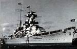 Heavy cruiser Blücher, date unknown