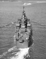 Canberra underway, Boston harbor, Massachusetts, United States, 14 Oct 1943, photo 4 of 4
