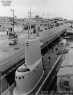 USS Charr at Mare Island Naval Shipyard, California, United States, 9 Nov 1951, photo 2 of 2