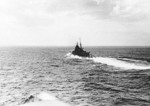 Chokai underway at sea