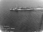 Concord underway in Puget Sound, Washington, United States, 1 Nov 1944