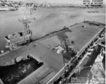 USS Copahee at Mare Island Navy Yard, California, United States, 14 Jul 1943, photo 1 of 3