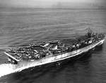 Cowpens underway, 17 Jul 1943, photo 2 of 2