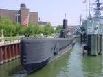 Museum submarine Croaker at Buffalo, New York, United States, 15 June 2008, photo 1 of 4
