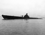 Cuttlefish off the Philadelphia Navy Yard, Pennsylvania, United States, 15 Nov 1943, photo 1 of 3
