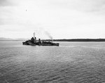 Drayton bombarding Palawan Island, Philippine Islands, 28 Feb 1945