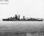 Drayton off the Mare Island Navy Yard, California, United States, 14 Apr 1942, photo 2 of 4