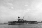 HMS Eagle at Alexandria, Egypt, 31 Dec 1940