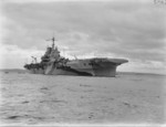 HMS Formidable at anchor, date unknown