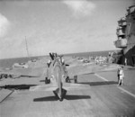 Martlet fighters on the flight deck of HMS Formidable, 1940s