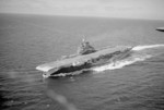 HMS Formidable underway, 1940s