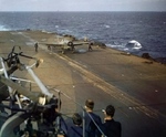 Martlet fighter aboard HMS Formidable off North Africa, Nov 1942
