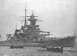 Battlecruiser Gneisenau, date unknown