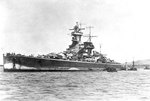 Admiral Graf Spee anchored off Montevideo, Uruguay, circa 13-16 Dec 1939, photo 1 of 2