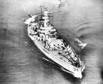 Panzerschiff Admiral Graf Spee in the English Channel, Apr 1939, photo 1 of 3