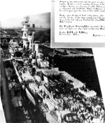 Commissioning ceremony of USS Guam, Philadelphia Navy Yard, Pennsylvania, United States, 17 Sep 1944, photo 2 of 2