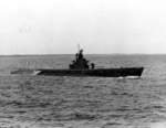Submarine Gunnel at sea off Groton, Connecticut, United States, 17 May 1942