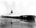 Hammerhead during trials in Lake Michigan, 22 Feb 1944