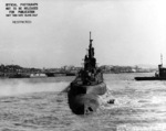 Stern view of USS Harder, Mare Island Navy Yard, Vallejo, California, United States, 19 Feb 1944