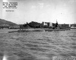 Starboard side view of USS Harder, Mare Island Navy Yard, Vallejo, California, United States, 19 Feb 1944