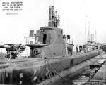 USS harder at Mare Island Navy Yard, Vallejo, California, United States, 19 Feb 1944, photo 1 of 2