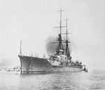 Battlecruiser Haruna at Kobe, Japan, 24 Apr 1915