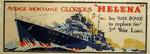 US government war bond poster featuring USS Helena, 1 Dec 1943