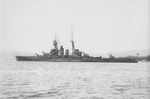 Japanese battlecruiser Hiei at Sasebo, Japan, Jun 1926