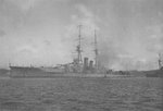 Japanese battlecruiser Hiei at Yokosuka, Japan, 24 Aug 1914