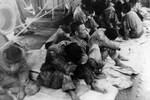 Surviviors of Hiryu aboard USS Ballard, Jun 1942