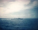 Hobart off Subic Bay, Aug 1945