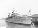 HMS Apollo at Miami, Florida, Feb 1938